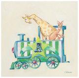 Animal Engine: A Print by Catherine Richards
