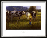 Anniken and the Cows Posters by Robert Duncan