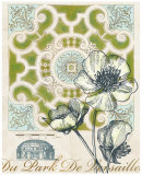 Antique Garden Plan Prints by Devon Ross