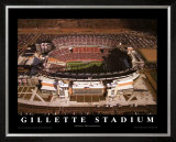 Gillette Stadium - Foxboro, Massachusetts Posters