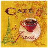 Paris Cafe Posters by Angela Staehling