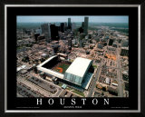 Enron Field - Houston, Texas Prints by Mike Smith