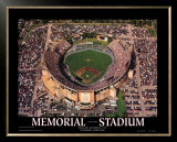Memorial Stadium: Final Orioles Game Posters by Mike Smith
