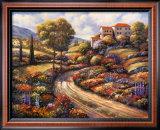 Tuscany Vistas II Art by John Zaccheo