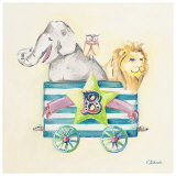 Animal Carriage: B Posters by Catherine Richards