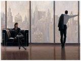 État d'esprit new-yorkais Affiches par Brent Lynch