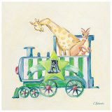 Animal Engine: A Prints by Catherine Richards