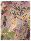 Rose Impressions I Prints by Sara Abbott