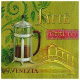 Latte Rialto Art by Angela Staehling