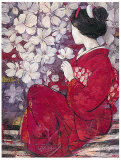 Geisha Reflection Prints by  Ivo