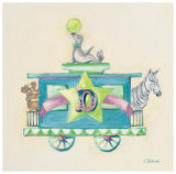 Animal Caboose: D Prints by Catherine Richards