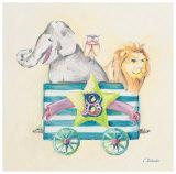 Animal Carriage: B Prints by Catherine Richards