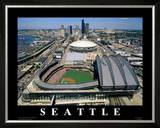 Safeco Field - Seattle, Washington Prints by Mike Smith