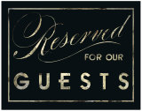 Reserved Posters by Lisa Vincent