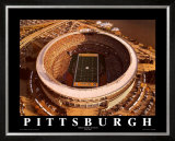Three Rivers Stadium - Pittsburgh, Pennsylvania Print by Mike Smith