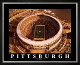 Three Rivers Stadium - Pittsburgh, Pennsylvania Print by Mike Smith