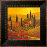 Poppies of Toscano II Art by Art Fronckowiak