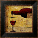 Red Wine Prints by Judi Bagnato