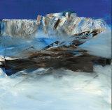 Eislandschaft I Poster von Conny Rosskamp