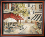 Daytime Cafe I Prints by Charlene Winter Olson