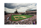 Coors Field, Denver Art by Ira Rosen