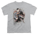 Youth: Justice League America - Superman Bricks T-shirts