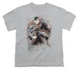 Youth: Justice League America - Superman Bricks T-shirts
