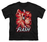 Youth: Justice League America - Flash Red & Gray T-shirts
