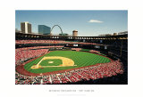 Busch Stadium, St Louis Art by Ira Rosen