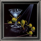 Even Dirtier Martini Print by Michael Godard
