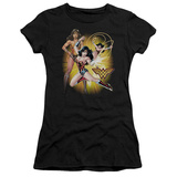 Juniors: Justice League America-Wonder Woman T-shirts