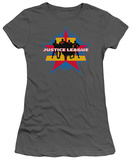 Juniors: Justice League America-Stand Tall T-shirts