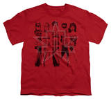 Youth: Justice League America - Five Stars T-shirts
