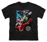 Youth: Justice League America - Galactic Attack T Shirts