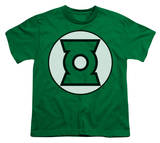 Youth: Justice League America - Green Lantern Logo T-Shirt