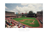 Rangers Ballpark, Arlington, Texas Print by Ira Rosen