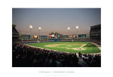 Chicago Comiskey Park Poster by Ira Rosen