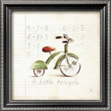 Little Tricycle Prints by Lauren Hamilton