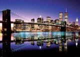 Pont de Brooklyn, New York Affiches