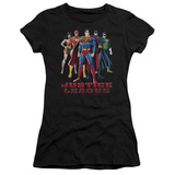 Juniors: Justice League America-In League T-shirts