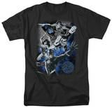 Justice League - Galactic Attack Nebula T-Shirt