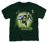 Youth: Justice League America - Lantern Burst Shirt