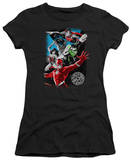 Juniors: Justice League America-Galactic Attack T-Shirt