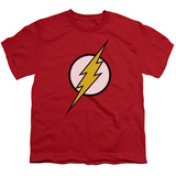 Youth: Justice League America - Flash Logo Shirt