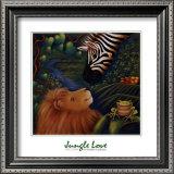Jungle Love I Prints by Marisol Sarrazin
