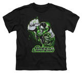 Youth: Justice League America - Green Lantern Green & Gray T-shirts