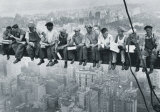 Men on a Girder Poster