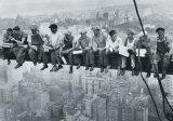 Men on a Girder Poster