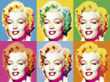 Visions of Marilyn Poster by Wyndham Boulter