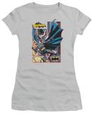 Juniors: Justice League America-Batman Panels Shirts